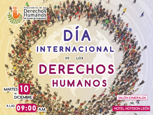 Próximo Evento: Día Internacional de los Derechos Humanos