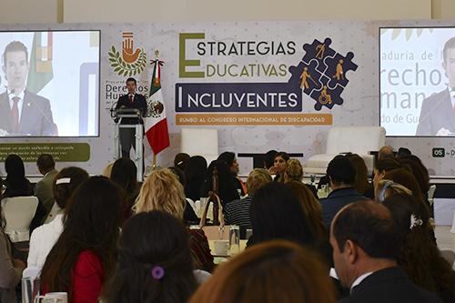 Realizan Foro sobre  Estrategias Educativas Incluyentes
