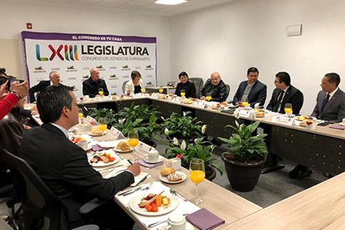 Reunión del Consejo Ciudadano de Parlamento Abierto