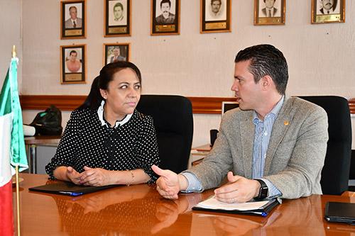 PDHEG y municipio de Tarandacuao hacen alianza en favor de los derechos humanos