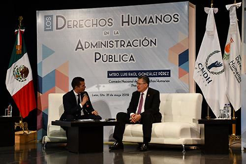 Acuerdan fortalecer la agenda de los derechos humanos en Guanajuato