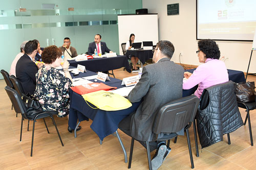 Sesiona Consejo Consultivo de la PDHEG