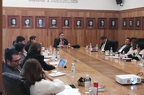 """Realizan Conversatorio """"El Poder Judicial y su Función como Garante de los Derechos Sociales""""."""