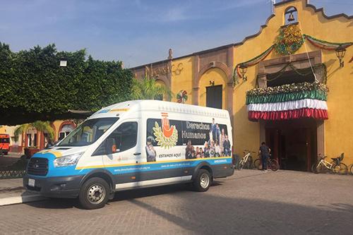 Visita Ombudsmóvil seis municipios del sur de Guanajuato