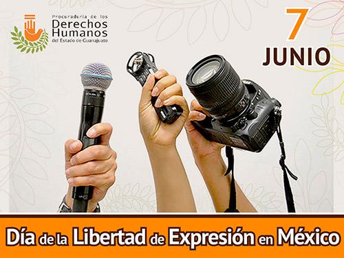 Día de la Libertad de Expresión en México