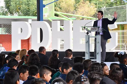 Más de mil 100 alumnos de secundaria participan en Jornada por Convivencia y la Paz Escolar