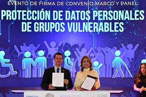 Ratifican compromiso con protección de datos personales