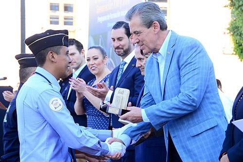 La PDHEG apoya a municipios en capacitación de policías