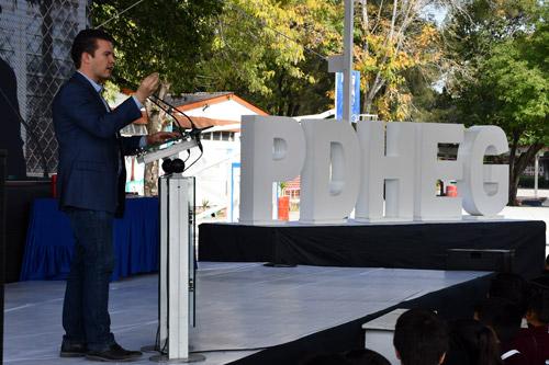 Asisten mil 200 alumnos a Jornada por la Convivencia y Paz Escolar