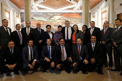 Asiste José Raúl Montero de Alba a presentación de Informe de Actividades de la CNDH a ministros de la SCJN
