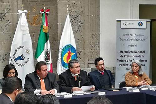 Ratifica PDHEG Convenio con Mecanismo Nacional de Prevención de la Tortura