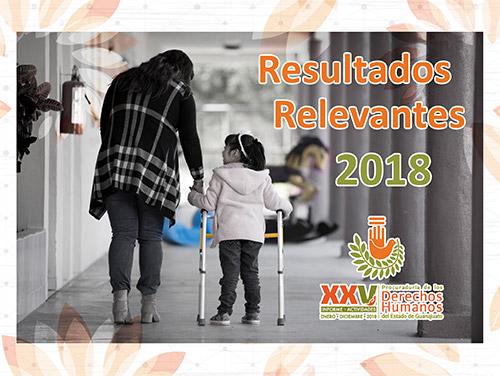 XXV Informe :: Resultados Relevantes