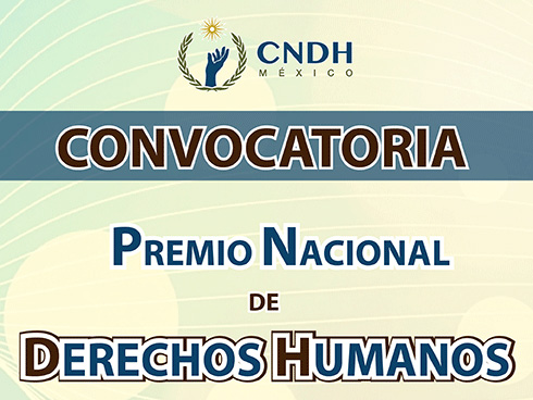 Convocatoria :: Premio Nacional de Derechos Humanos