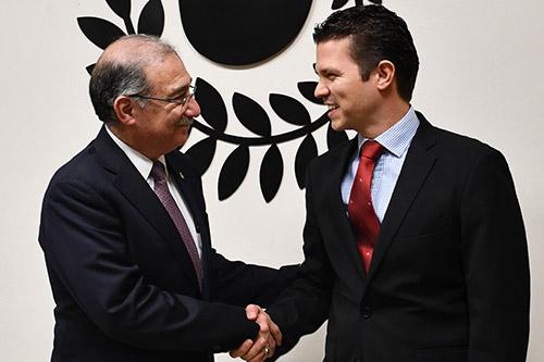 Visita Ministro de la Corte, Alberto Pérez Dayán Instalaciones de la PDHEG