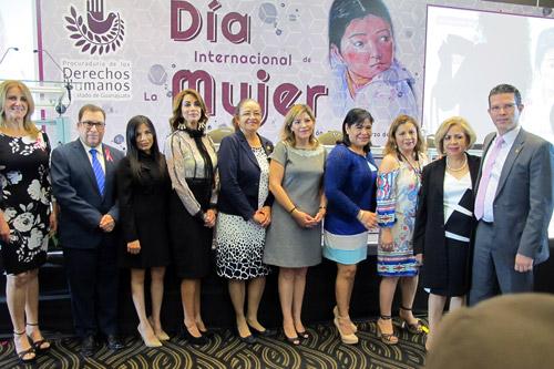 Conmemora PDHEG Día Internacional de la Mujer y firma convenio con IACIP y TEEG.