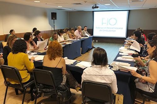 Integra PDHEG Consejo Rector de la Federación Iberoamericana del Ombudsman