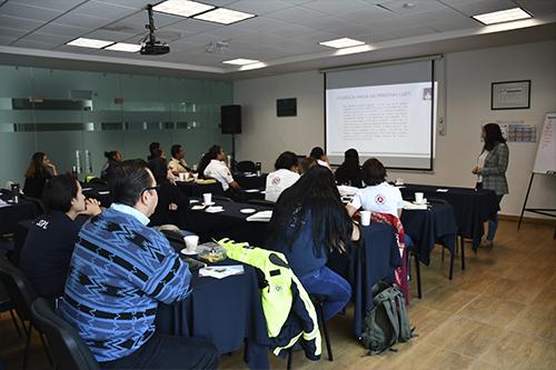 Capacitan a SSP de León sobre derechos humanos de las mujeres y de la diversidad sexual.